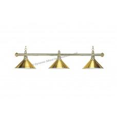 Lamp Elegance, brass, 3 Bells